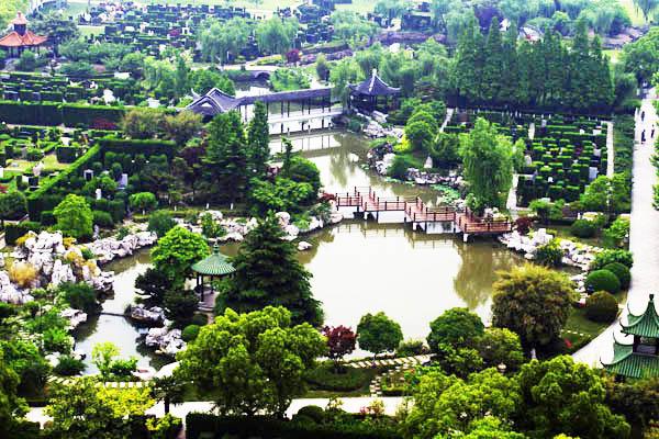 墓园景观(平面图)-福寿园-上海墓地官方查询_2019年图片